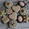 French shabby chic cookies