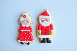 Mr. & Mrs Claus, by Jolies Gourmandises