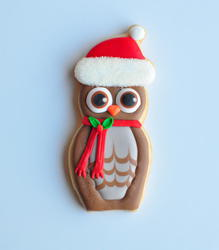 Christmas Owl, by Jolies Gourmandises