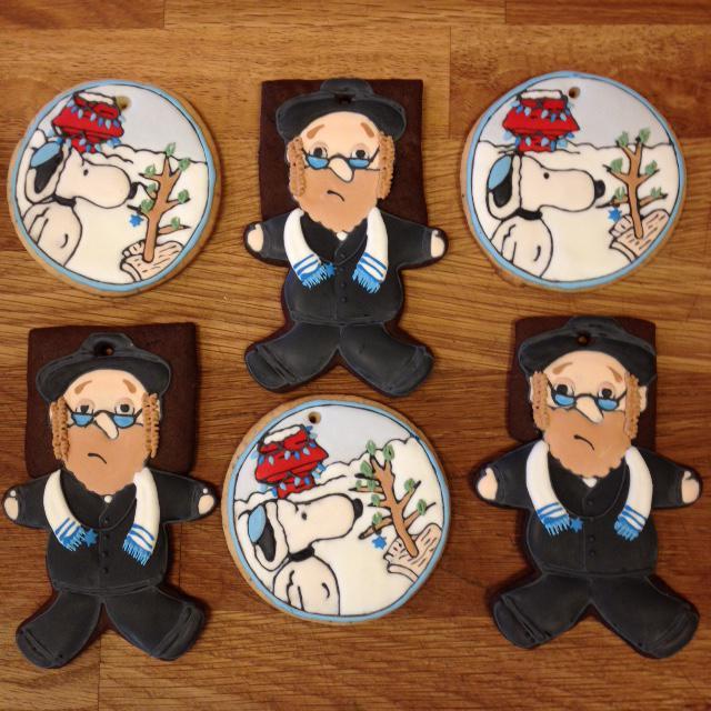 Hanukkah Cookies 2014