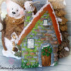 Cobblestone House Cookie by Emma's Sweets