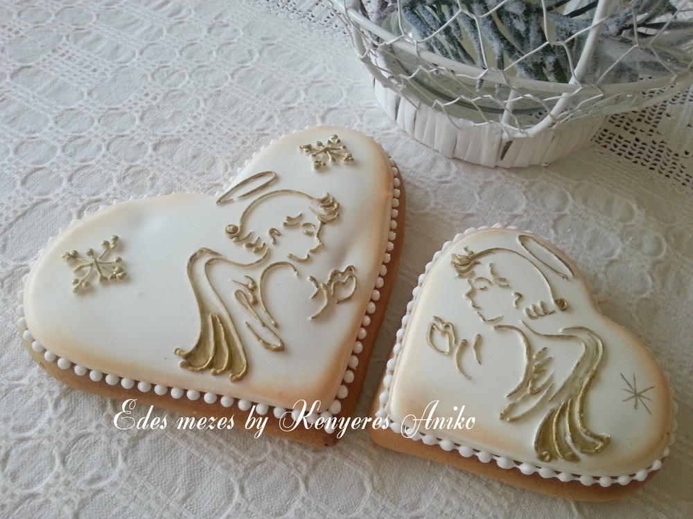 Gingerbread Christmas Angel Cookie Connection