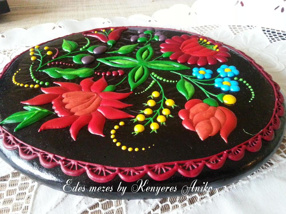 Gingerbread & flowers