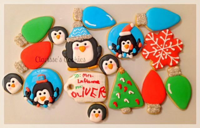 Penguin Christmas Cookies In A Jar Cookie Connection