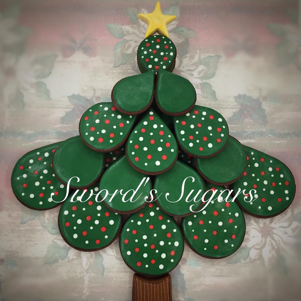 Christmas Tree Platter