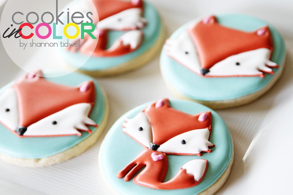 Foxy Little Cookies