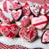 Piped Hearts by Dany's Cakes