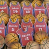 cookie favor for a basketball team