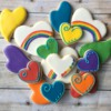 Rainbow Heart party