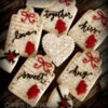 Valentine's Day Gift Tag cookies