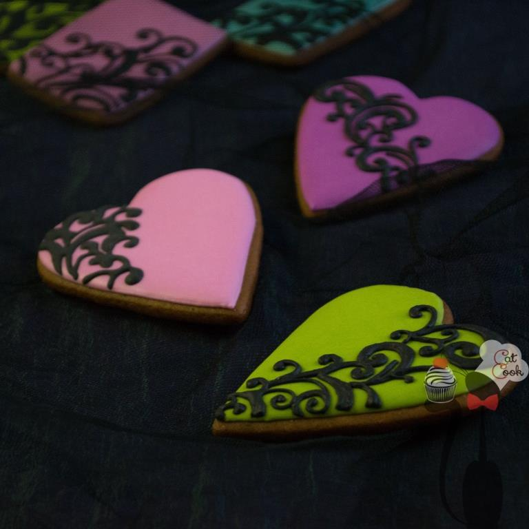 Lace Cookies_Valentine's Day