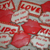 Lips Valentine Cookie Collection