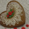 Gingerbread Lace Valentine