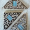 Wooden Attic window - Architectural Cookies