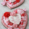 Embossed Cookie Hearts