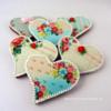 Vintage Valentine's Day Cookies