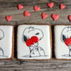 Snoopy Love and small hearts