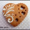 Corazón de encaje San Valentín