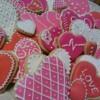 Valentine Cookies, February, 2015