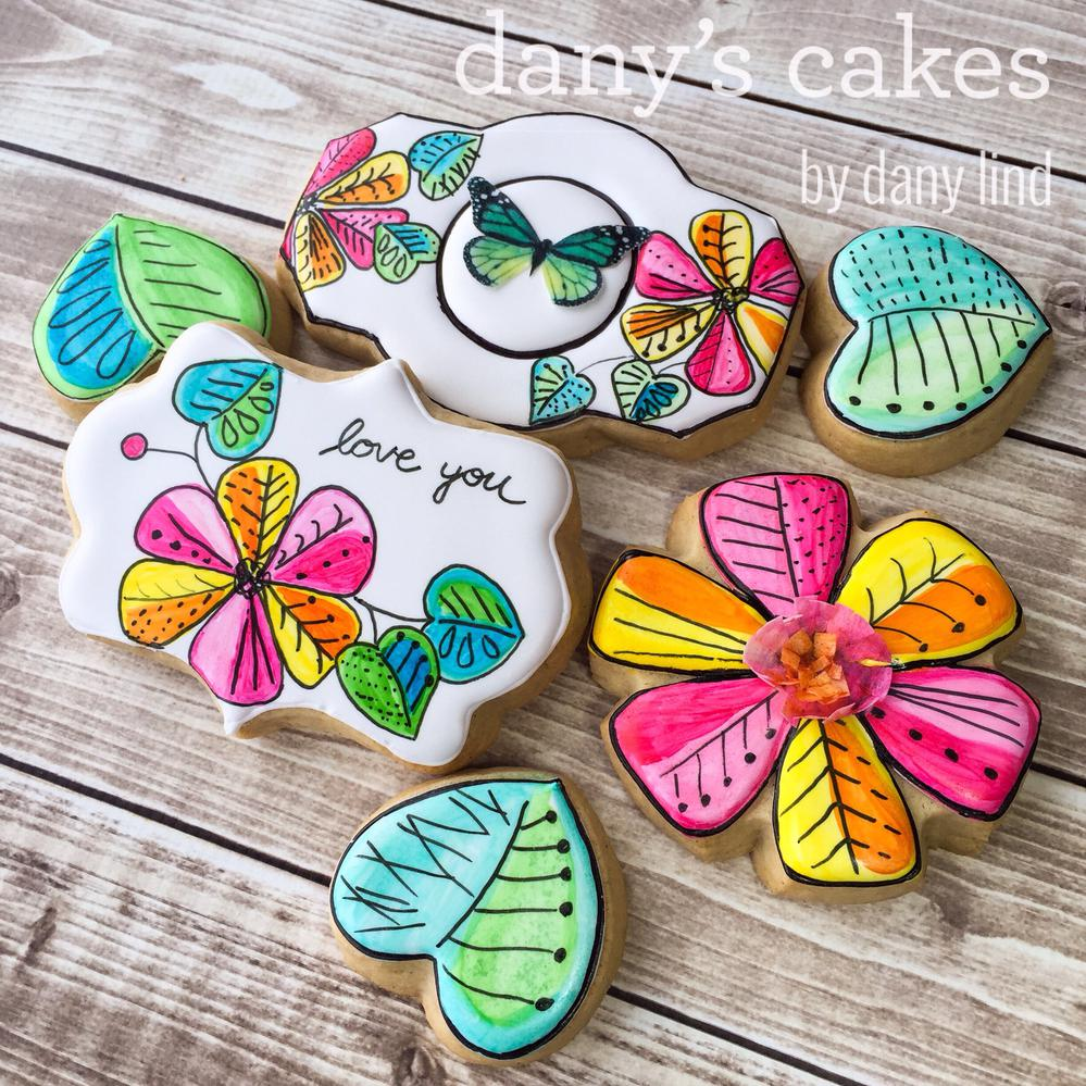 Butterflies & Sunshine by Dany's Cakes