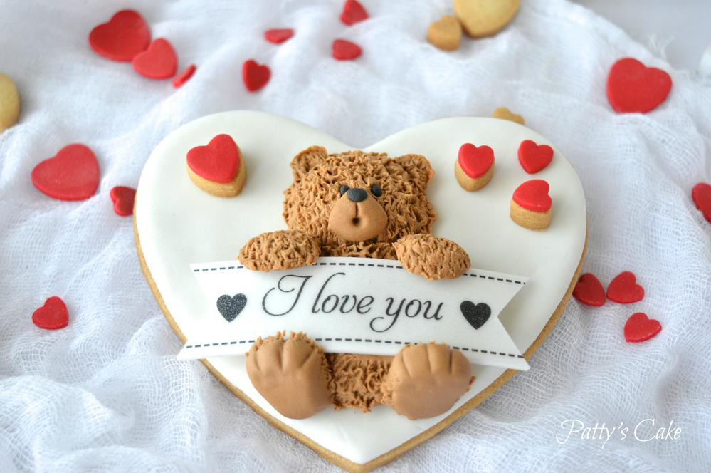 Saint Valentine's Teddy Bear