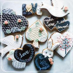 st valentine's day cookie set