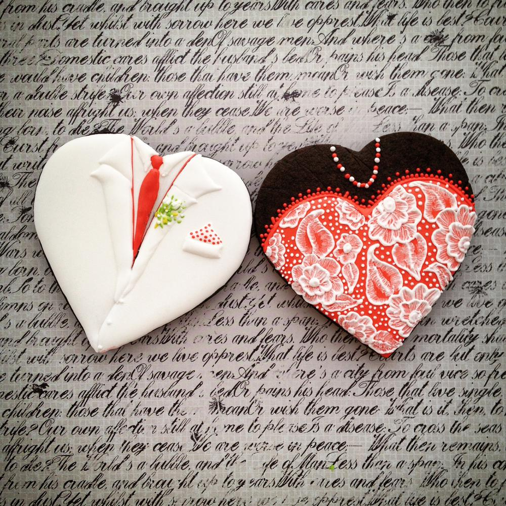 Valentine's Day Couple Cookie