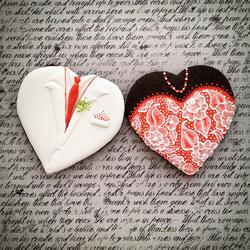 Valentine's Day Couple Cookie