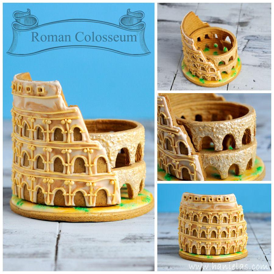 3-D Roman Colosseum