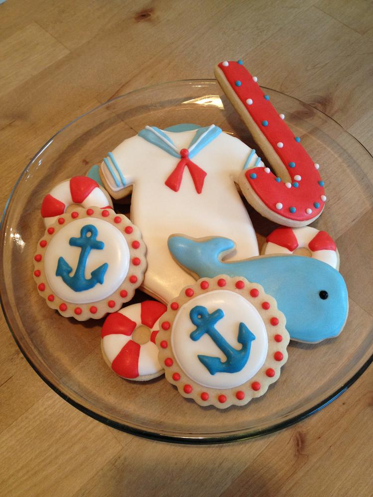 Nautical Baby Shower Cookies Cookie Connection