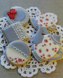Tea Set Cookies