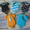 Little Man Onesies by Emma's Sweets