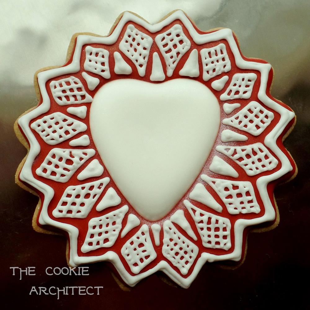 Valentine Heart | The Cookie Architect