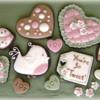 Valentines Tweet Bird and Hearts