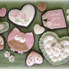 Valentines Owl and Hearts