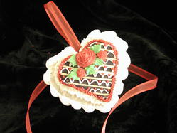 Molded Heart Filled with Candy