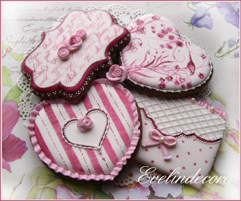 Romantic cookies