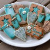 Rustic Thank You Cookies