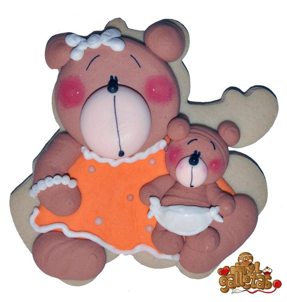 Galleta mama oso