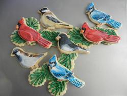 Winter Bird Cookies