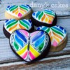Rainbow Butterfly by Dany's Cakes