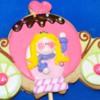 Galleta carroza princesa