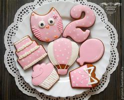Girls'/Women's Birthday Cookies