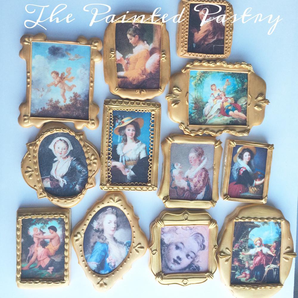 Framed Art Cookies