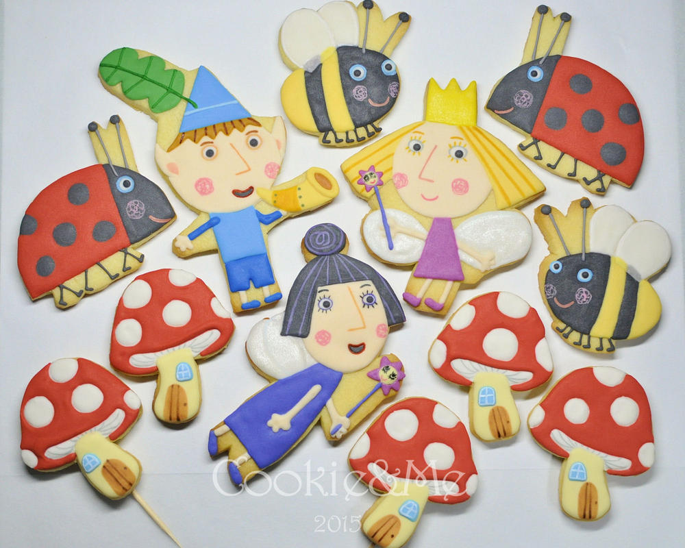 Ben Holly Cake Toppers