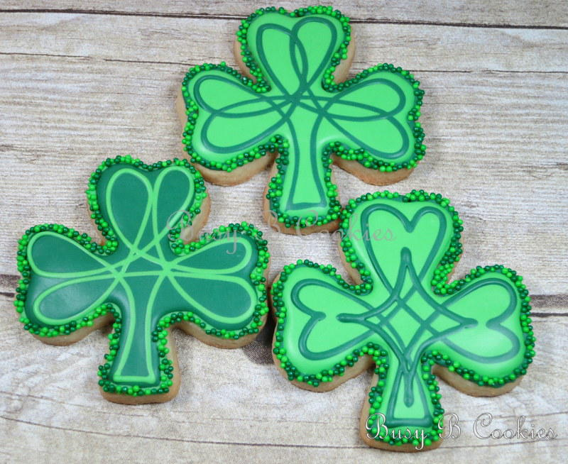 Shamrock Sugar Cookies