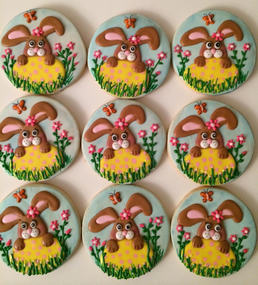 Easter/Spring cookies 2015