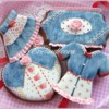Denim cookies