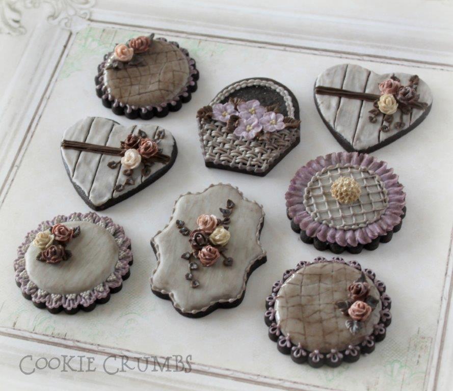Rustic Vintage Cookies