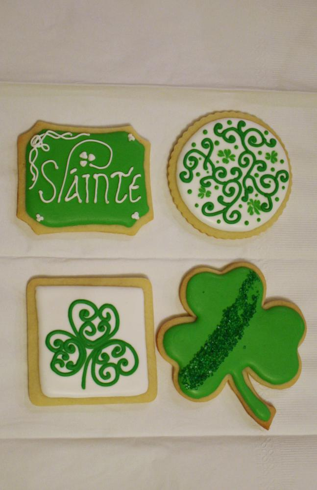 St Patrick's Day Cookies!